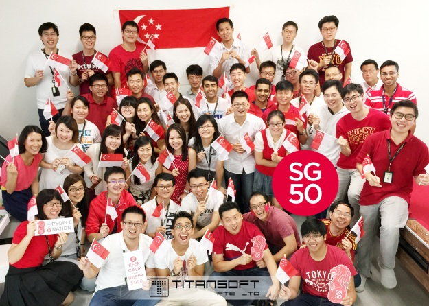 SG50 at Titansoft