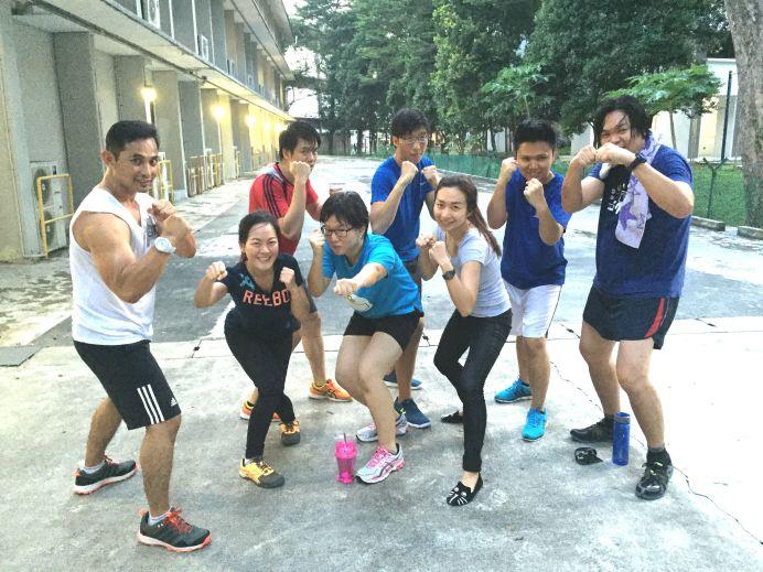 Boxercise: Workplace Health Program