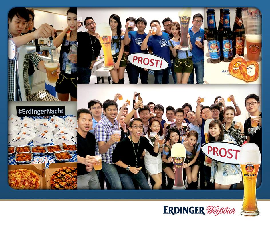 Erdinger office party