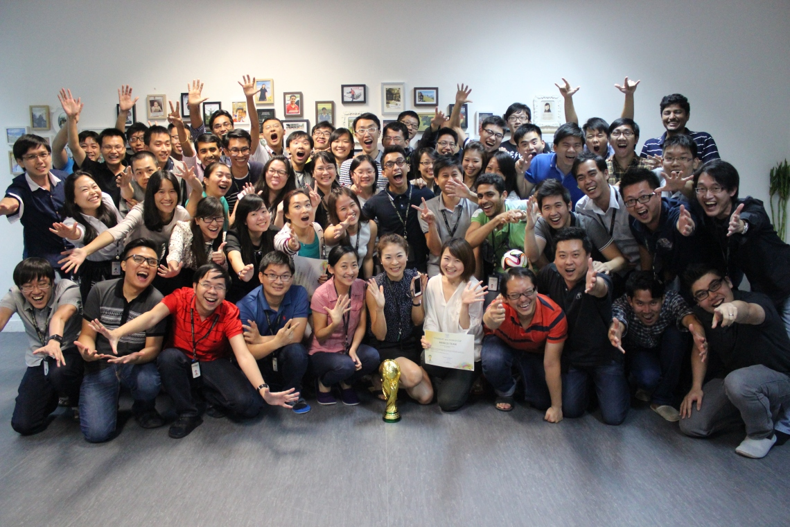 Company celebrations