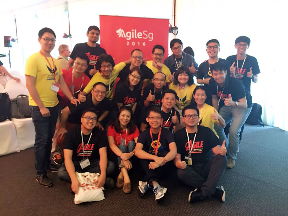 Titaners at Agile SG Conference
