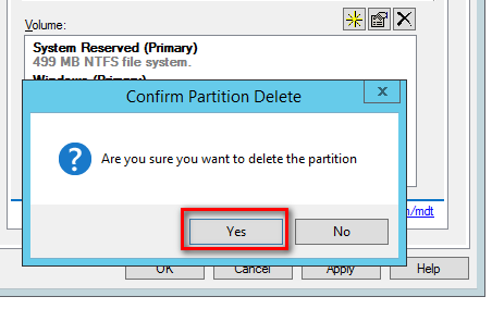 Custom Partition Hard Disk Sizes With MDT | T 8ytes